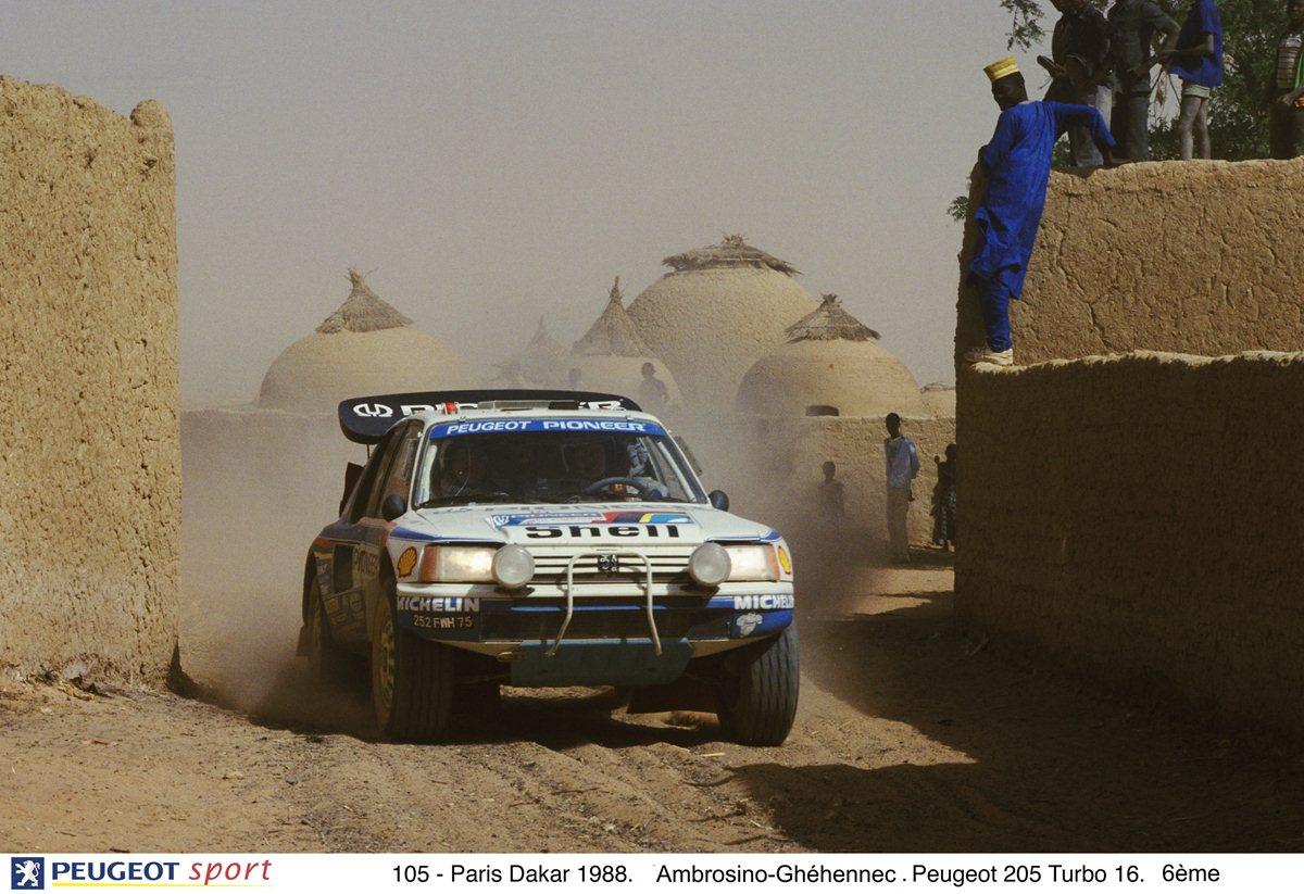 Le Peugeot dei Rally Raid ad AutoMoto d'Epoca