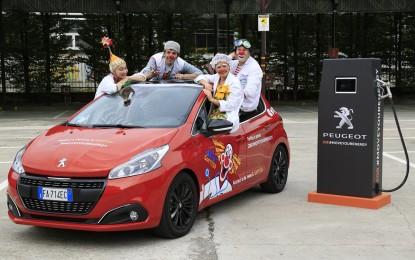 #MoveYourEnergy con Peugeot 208