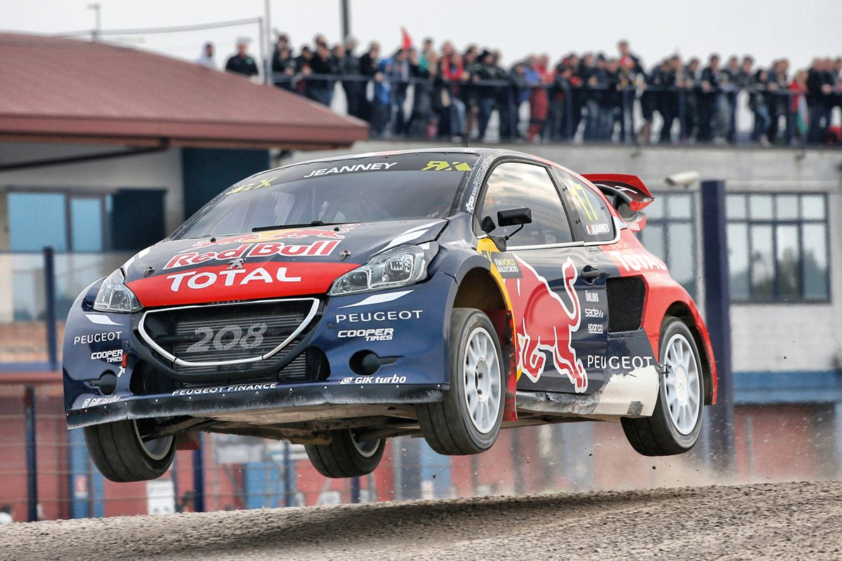 Peugeot Hansen Campione del Mondo Rallycross