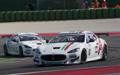 Maserati GT protagoniste a Misano