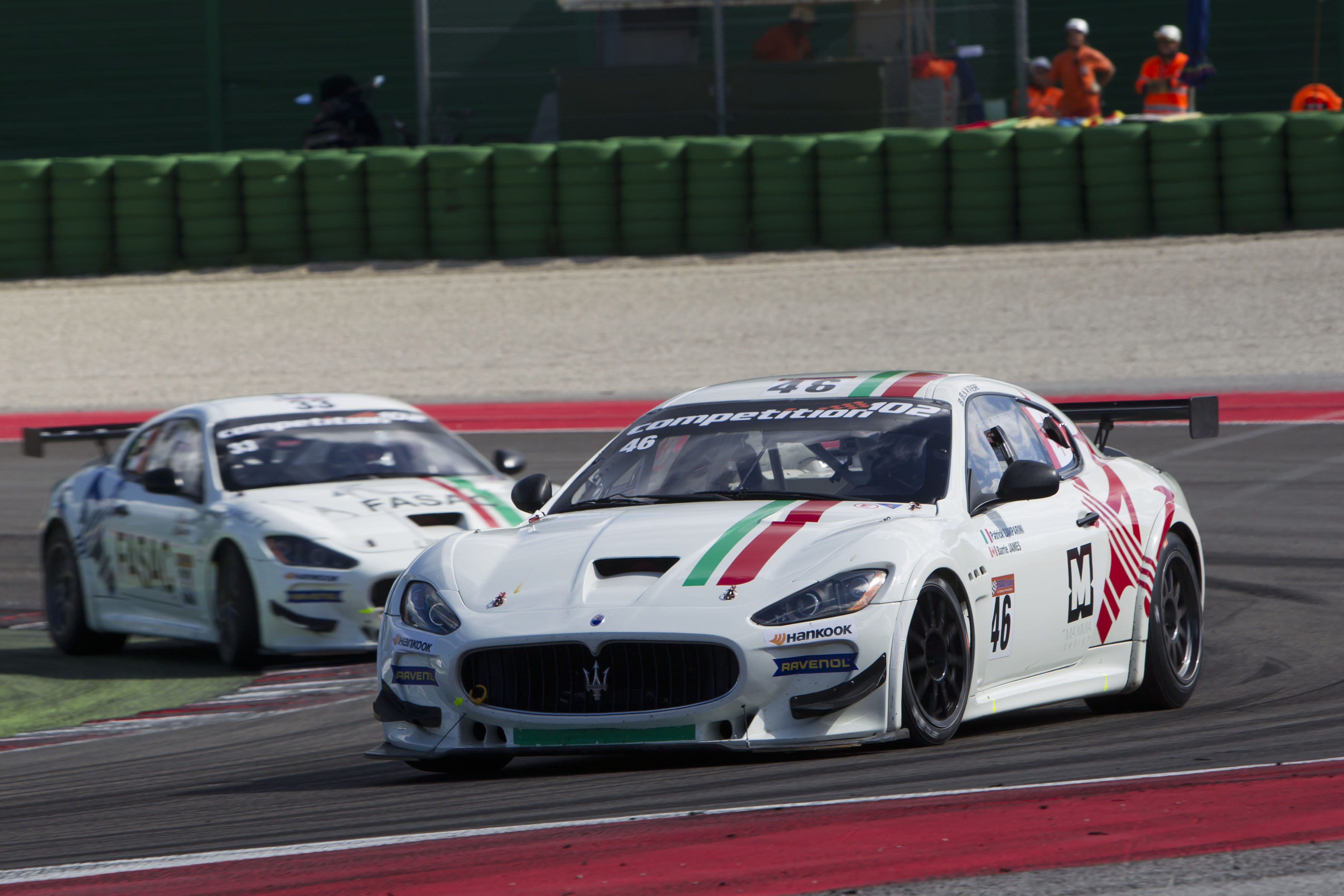 Maserati GT protagoniste a Misano