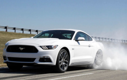 'The Stig' e Ford Mustang in un film