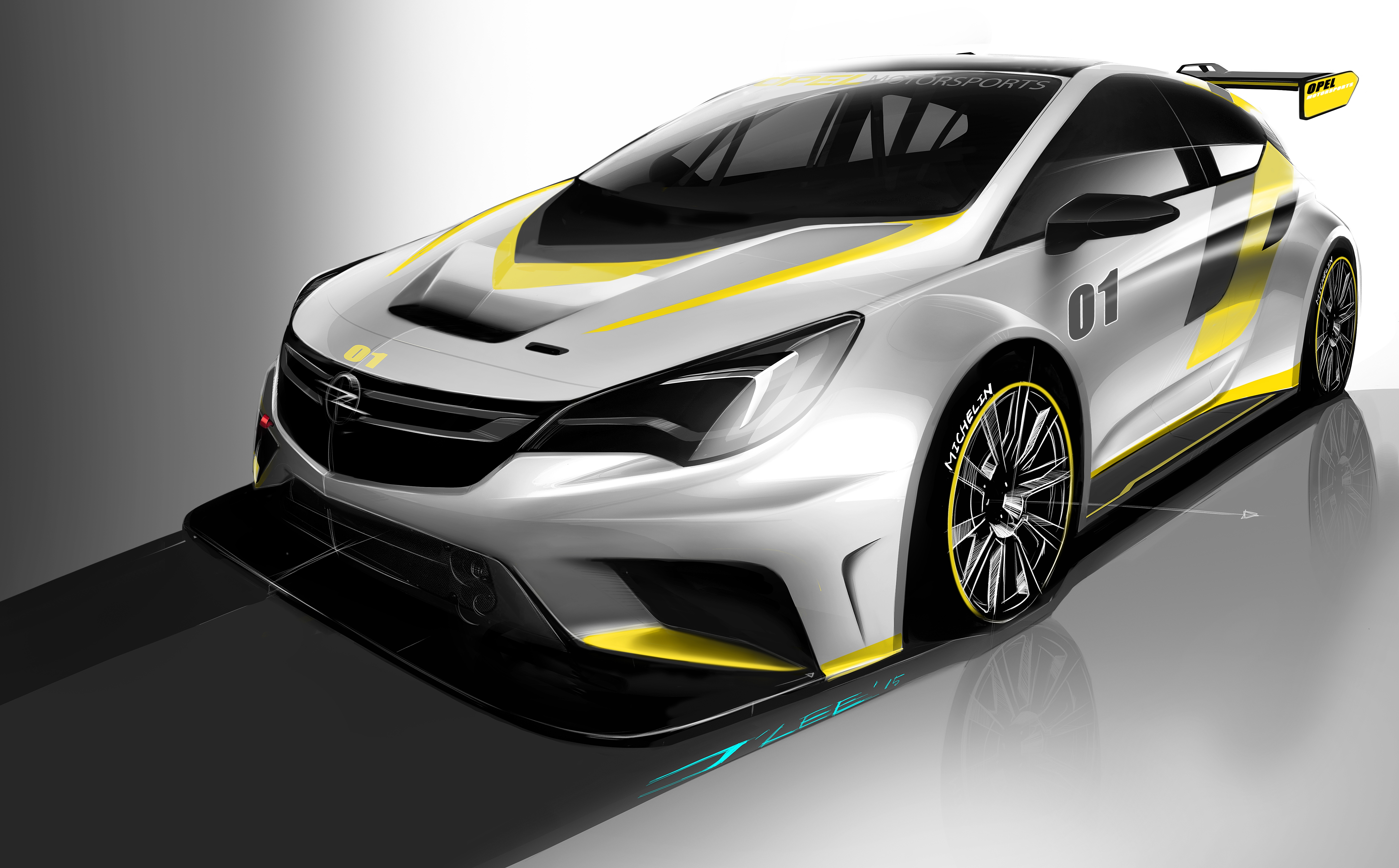 Opel Astra TCR: anteprima mondiale
