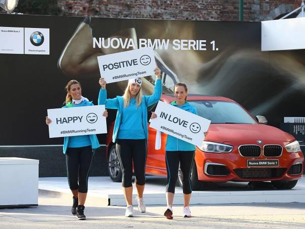 We are 1 BMW Running Team @ DEEJAY TEN