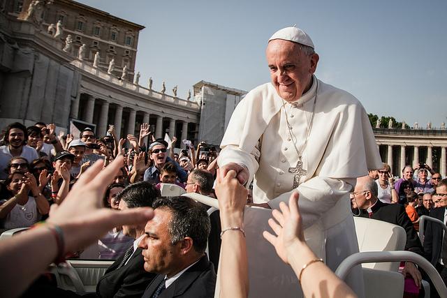 La FMI da Papa Francesco