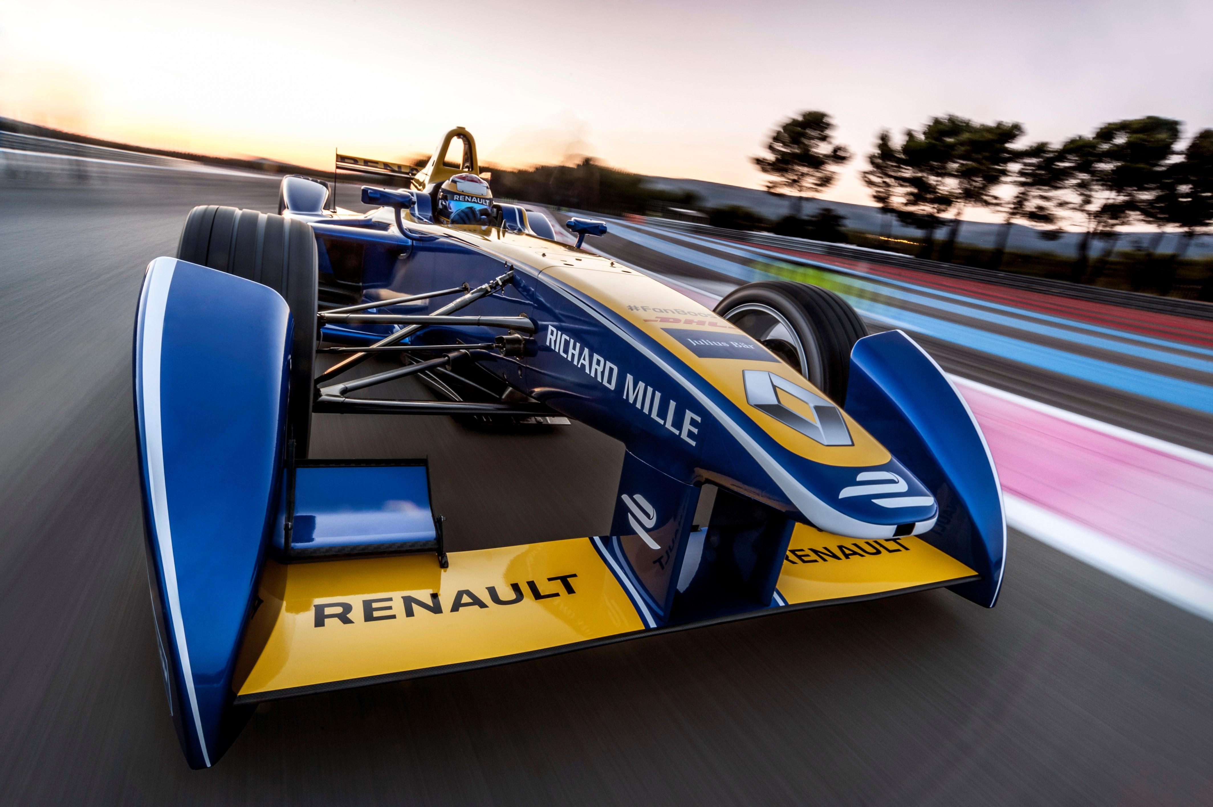 Formula E: Renault e.DAMS pronto!