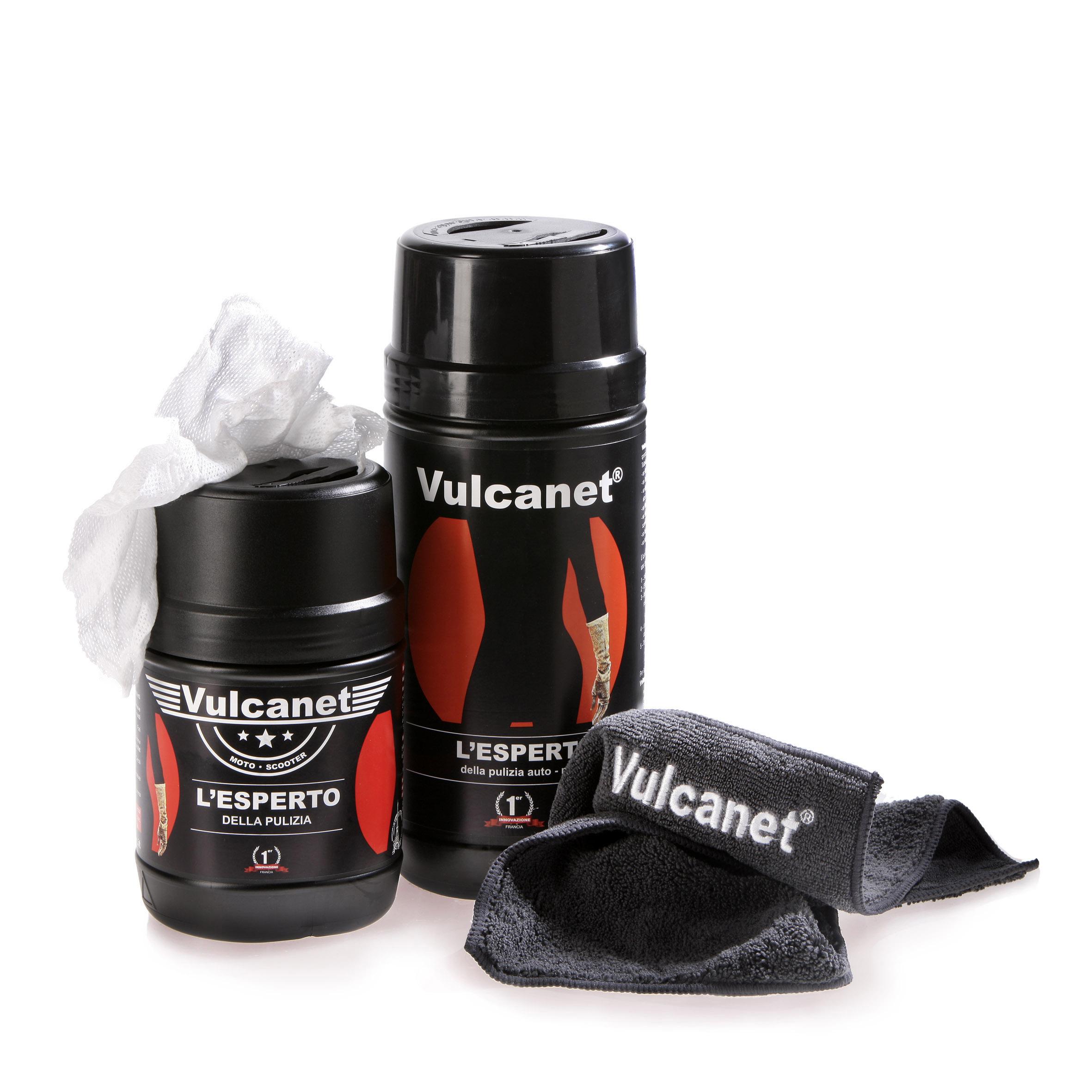 Vulcanet®, la salviettina tecno-chic