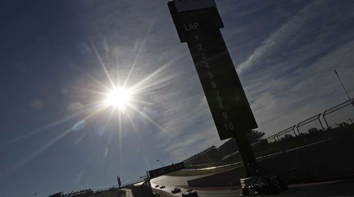 Austin: anteprima Renault Sport F1