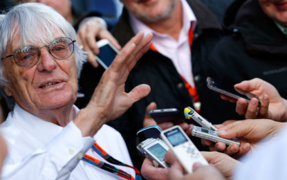 Ecclestone: F1 could be sold before 2016 season