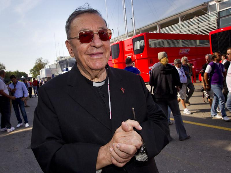 Ci ha lasciati don Sergio Mantovani, il prete della F1