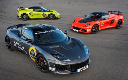 Lotus Driving Academy: arriva la Evora 400