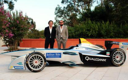 Leonardo DiCaprio con la Formula E