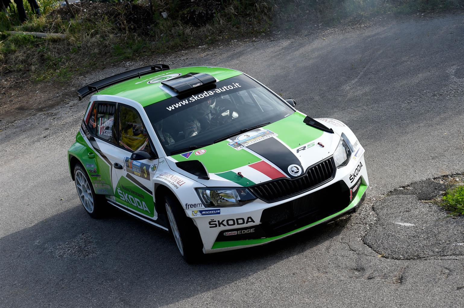 ŠKODA: l'adrenalina del rally a 360°