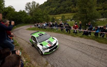 ŠKODA trionfa al Rally Due Valli