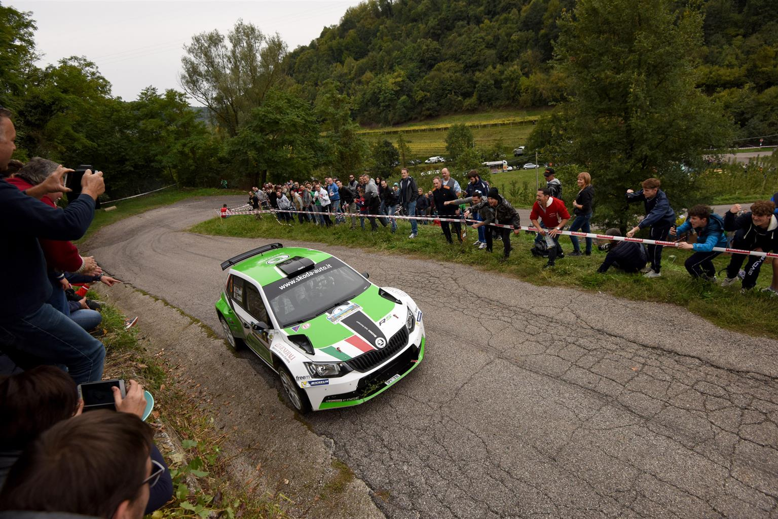 ŠKODA trionfa al Rally Due Valli
