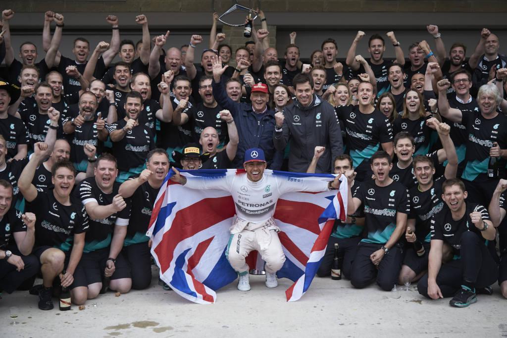 USA: tutti i numeri Mercedes del weekend