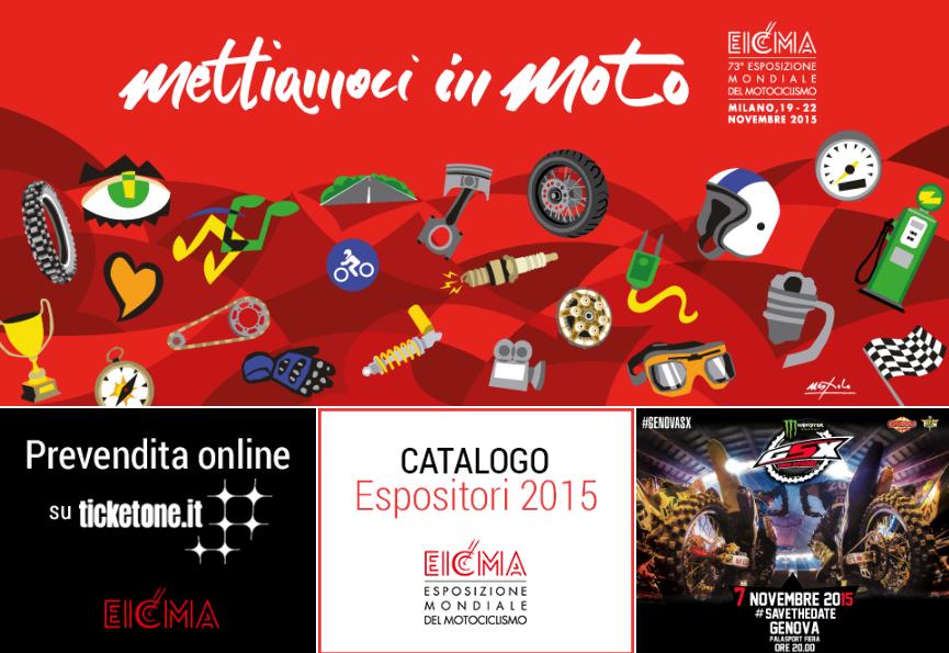 EICMA 2015: prime informazioni