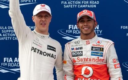"""Alonso: """"Michael Schumacher superiore a Hamilton"""""""