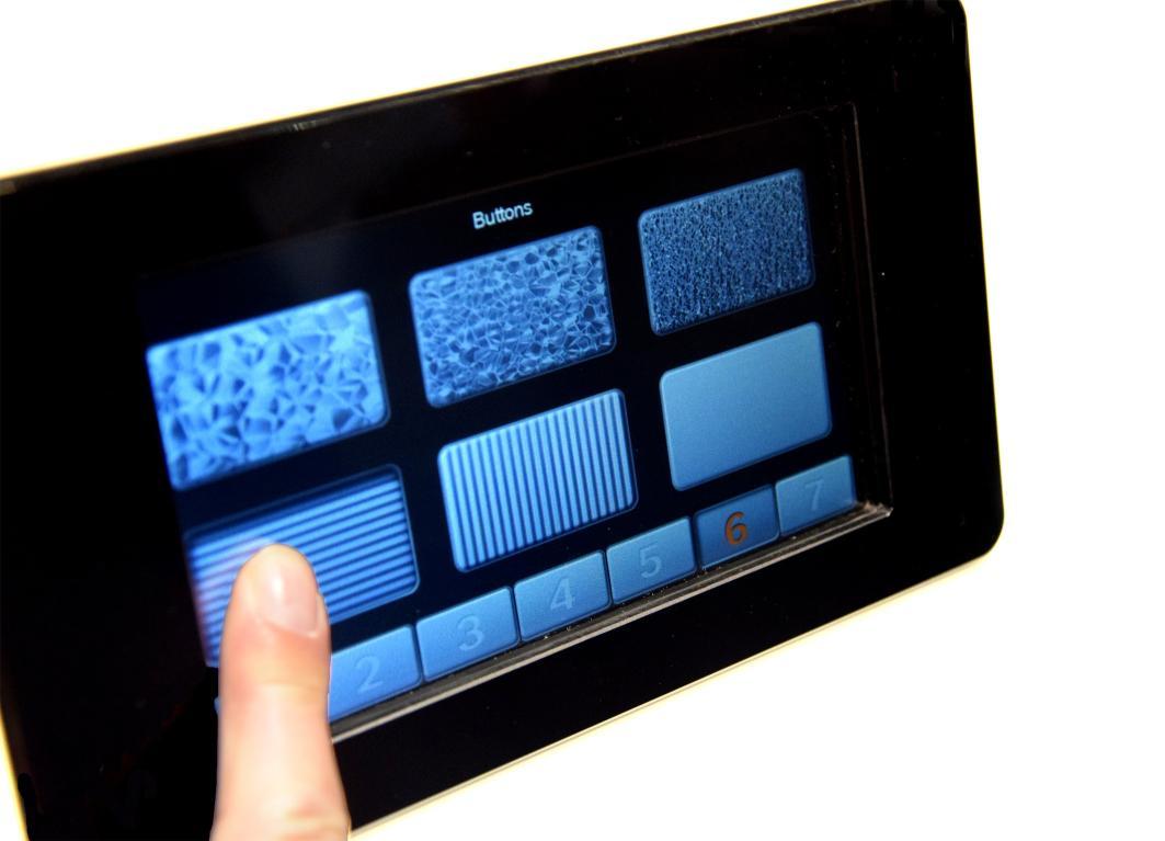 Bosch: touch screen con feedback