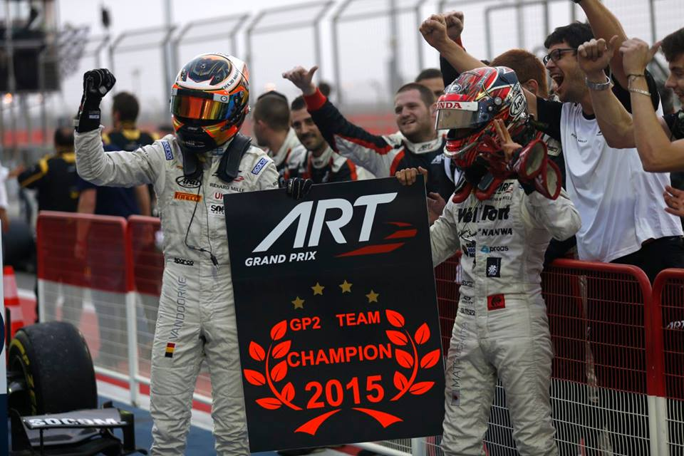 GP2: ART Grand Prix take team title