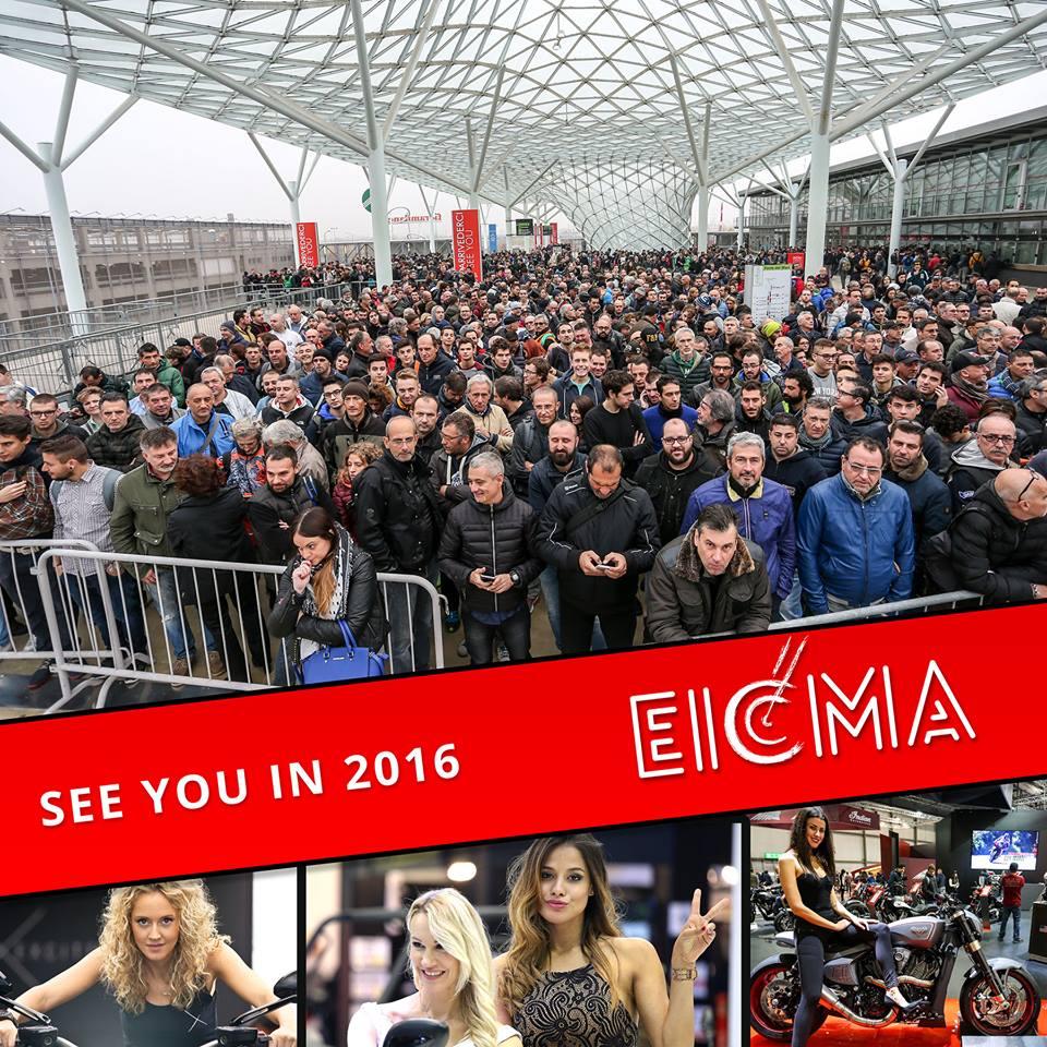 Eicma 2015: un altro grande successo