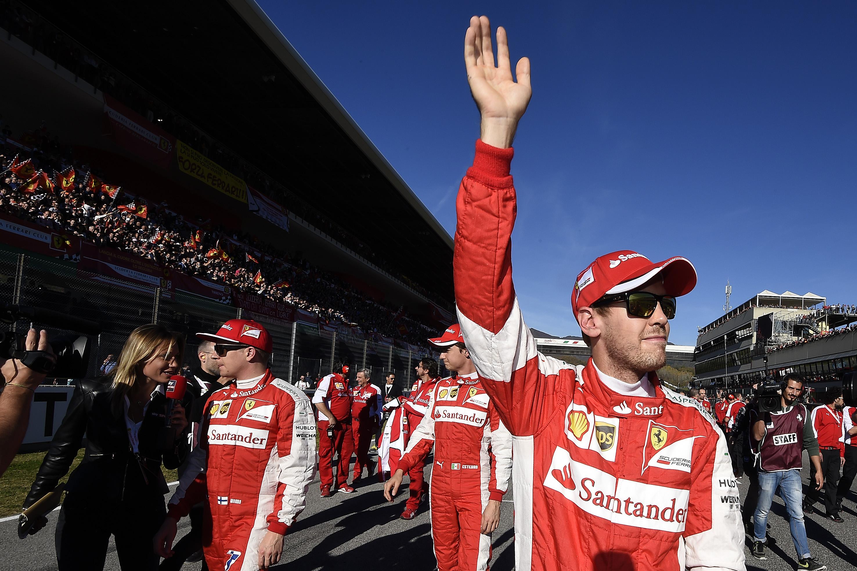 Finali Mondiali: l'emozione di Vettel e Raikkonen