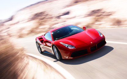 "Ferrari 488 GTB ""Best supercar 2015"""