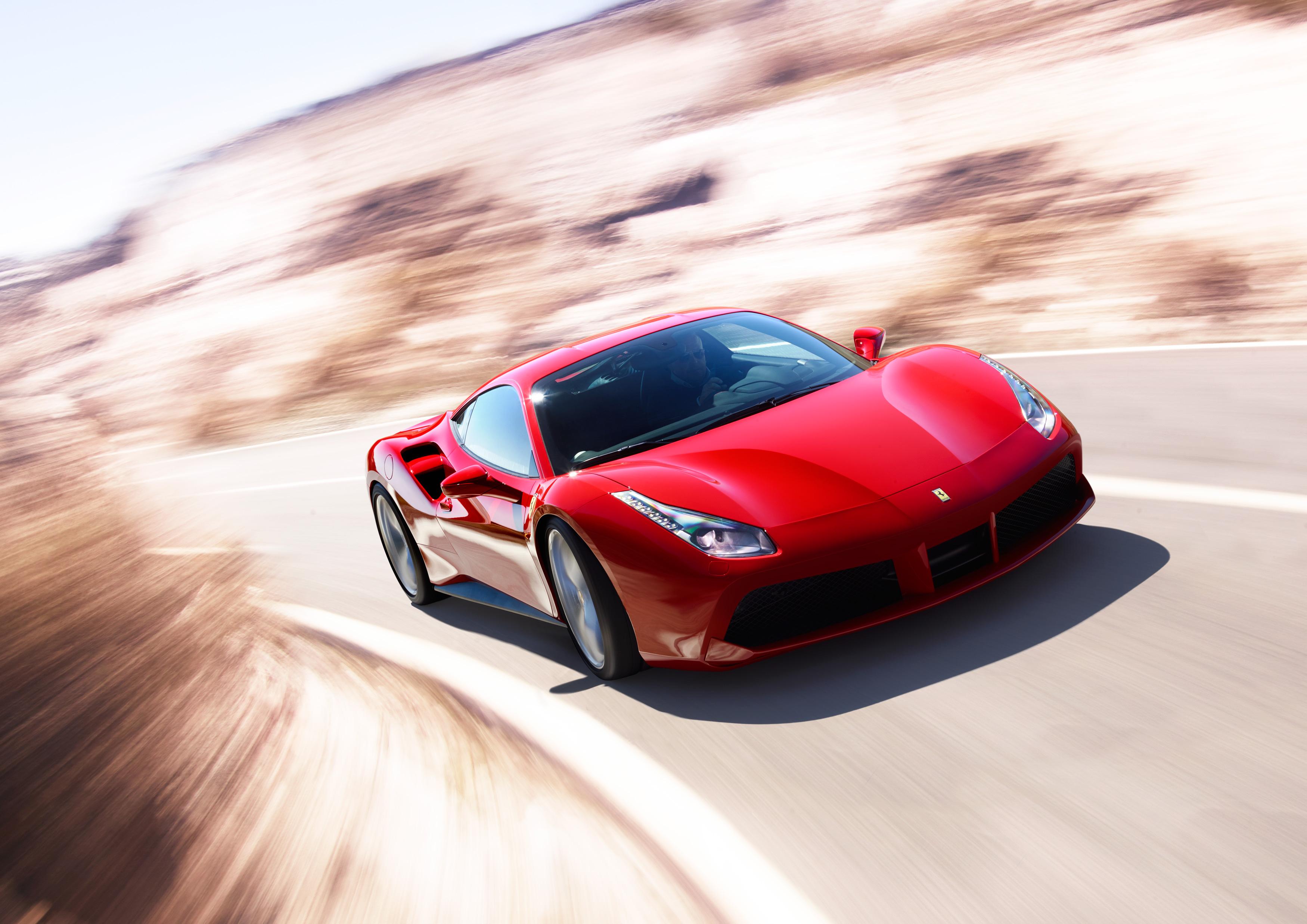 "Ferrari 488 GTB ""Best supercar 2015"""