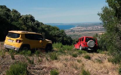 Jeep e Autonomy nel Parco della Maremma