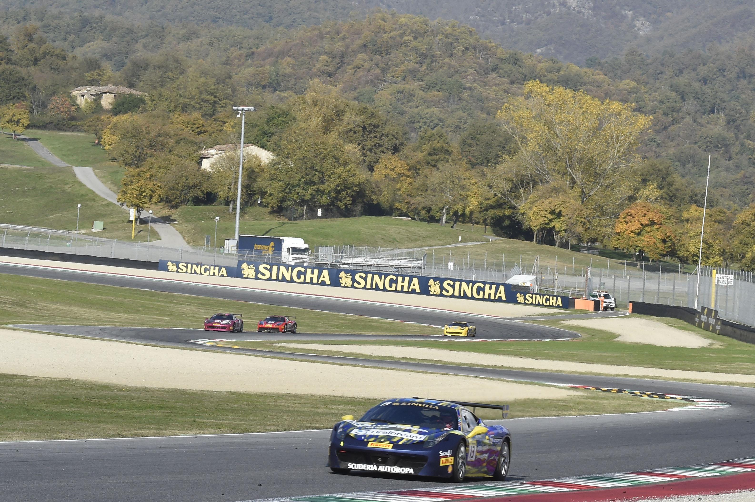 Ferrari Challenge: testa a testa al Mugello