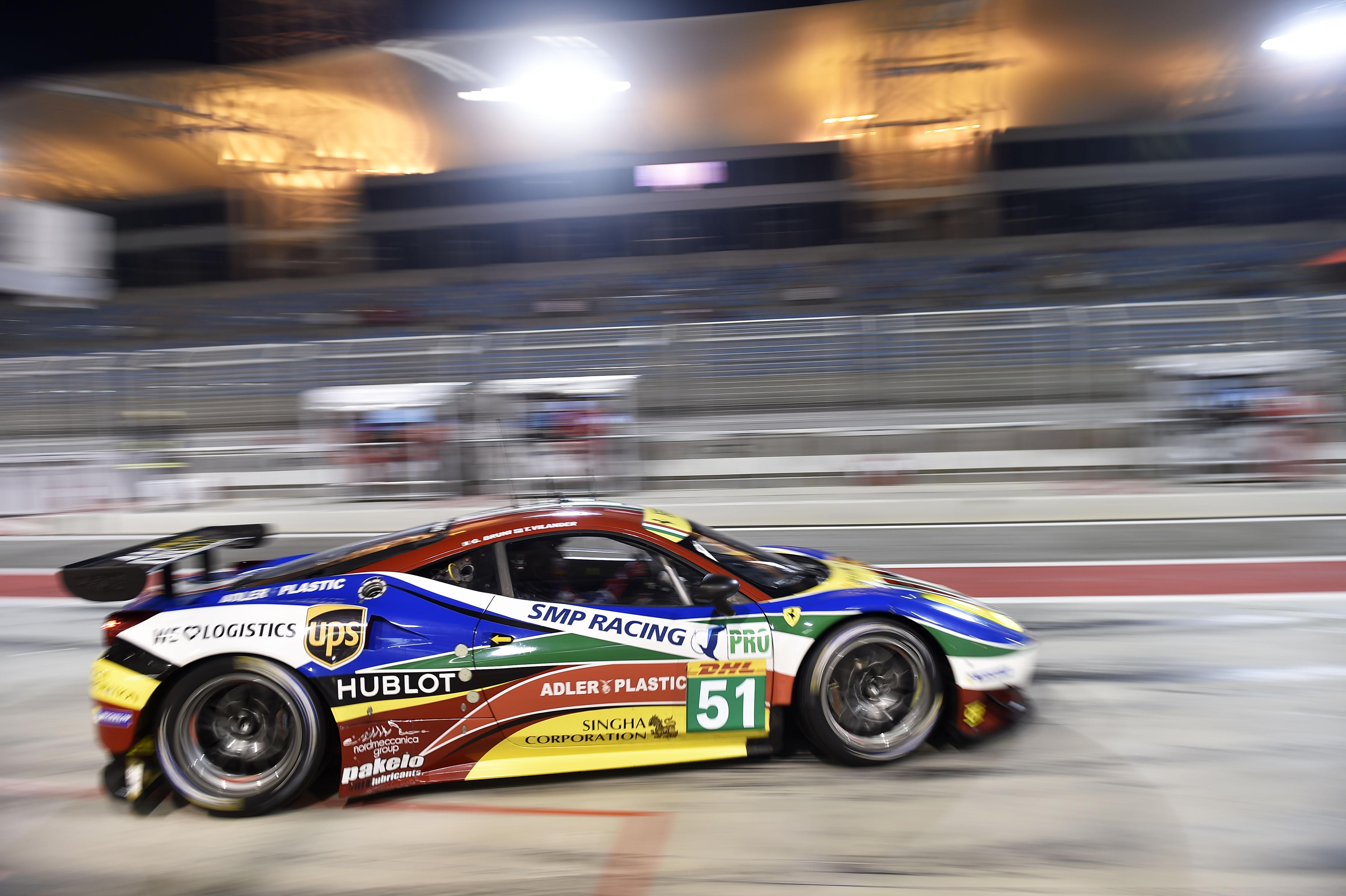 WEC: pole per Bruni-Vilander in Bahrain
