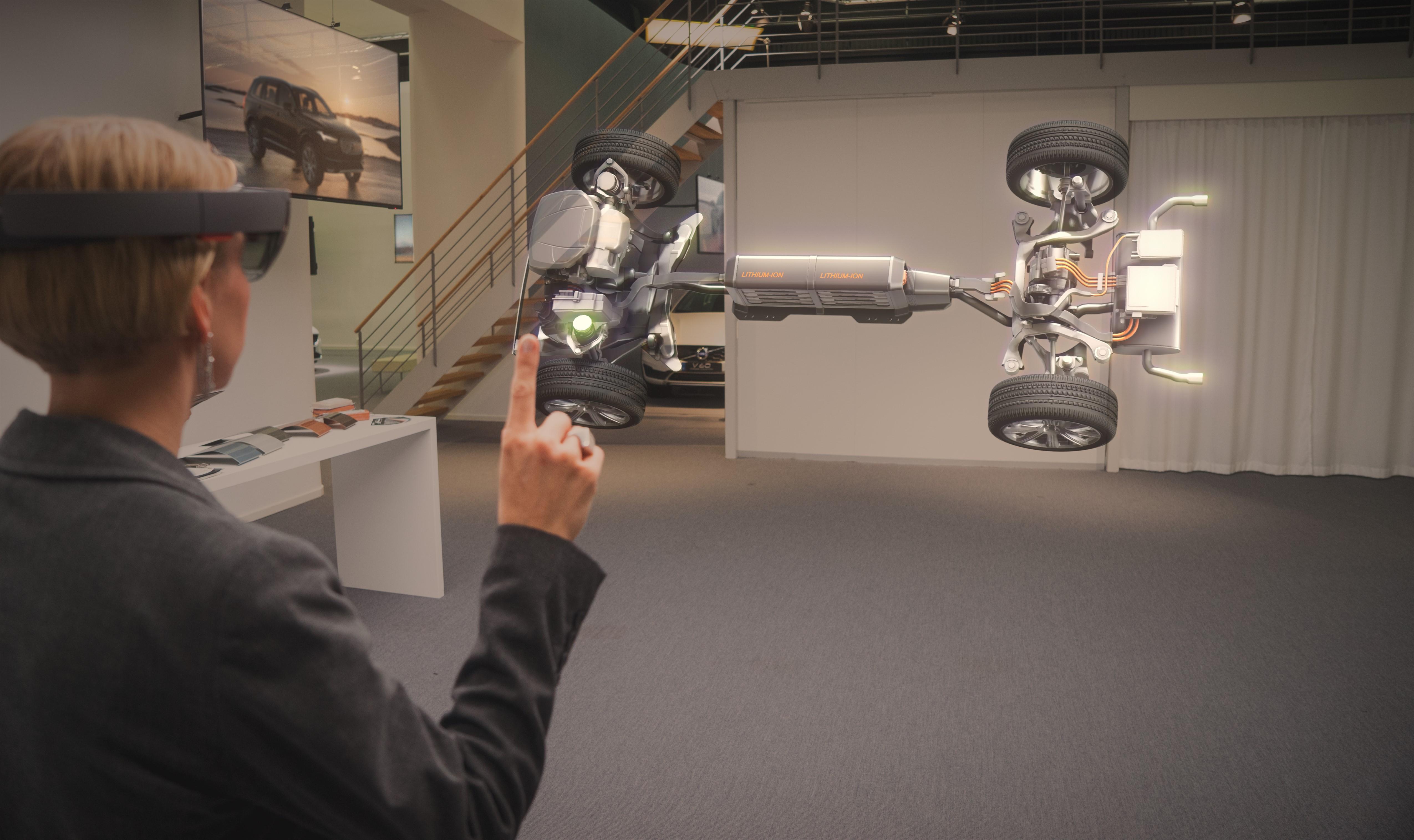 Volvo e Microsoft: HoloLens per il futuro