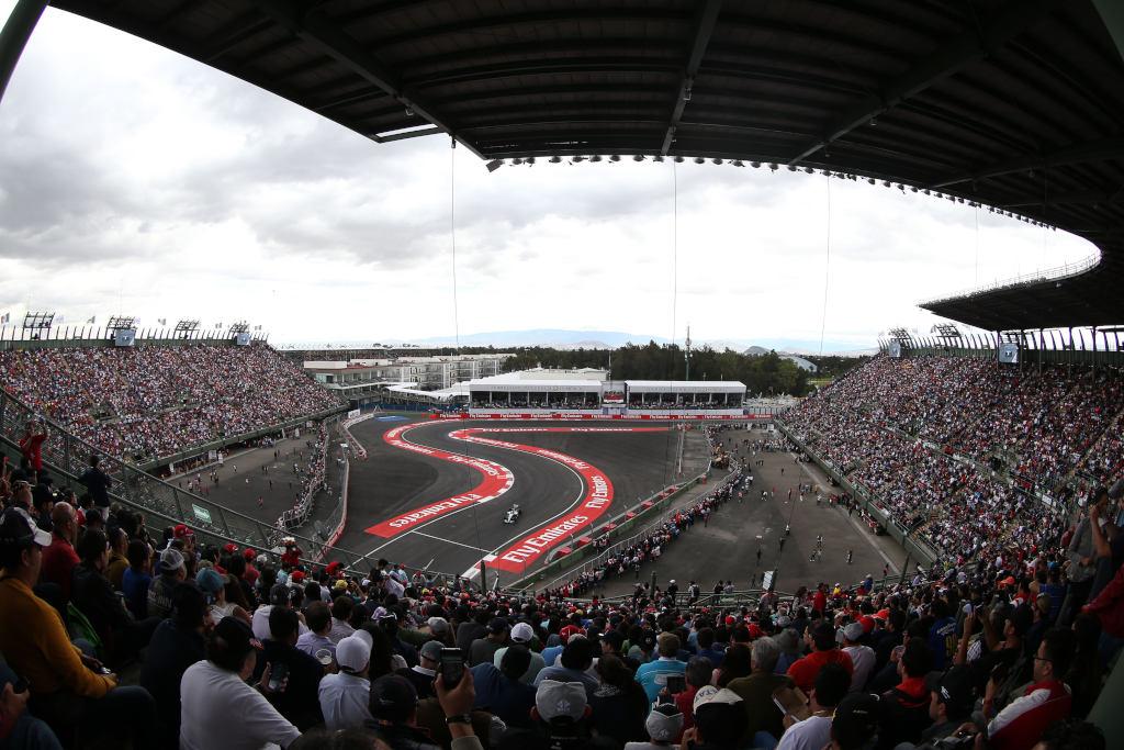 Messico: la griglia di partenza, Kimi 18°