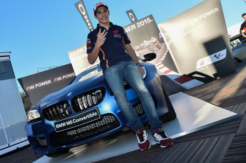 Marquez vince il BMW M Award 2015