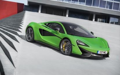 McLaren Sports Series in produzione