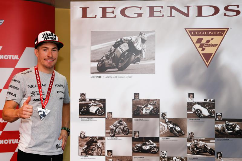 Nicky Hayden MotoGP™ Legend
