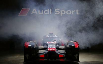 Audi R18: world premiere in Munich