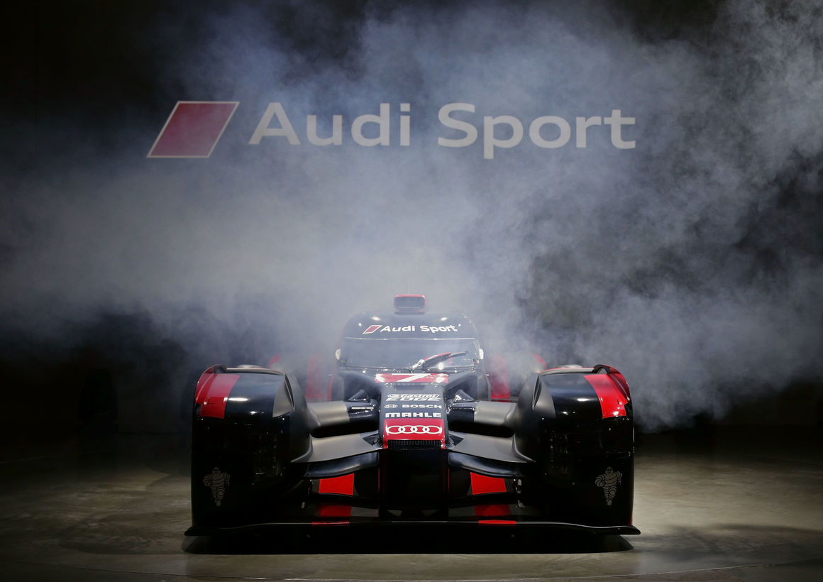 Audi R18: world premiere in Munich