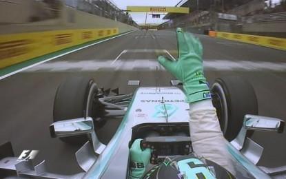 Rosberg domina in Brasile