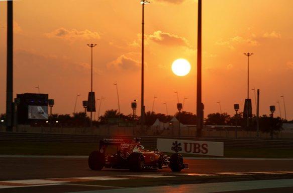 Abu Dhabi: la griglia di partenza