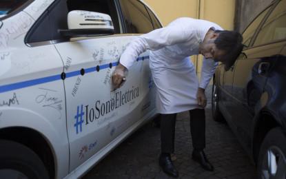 Davide Oldani sceglie #IoSonoElettrica