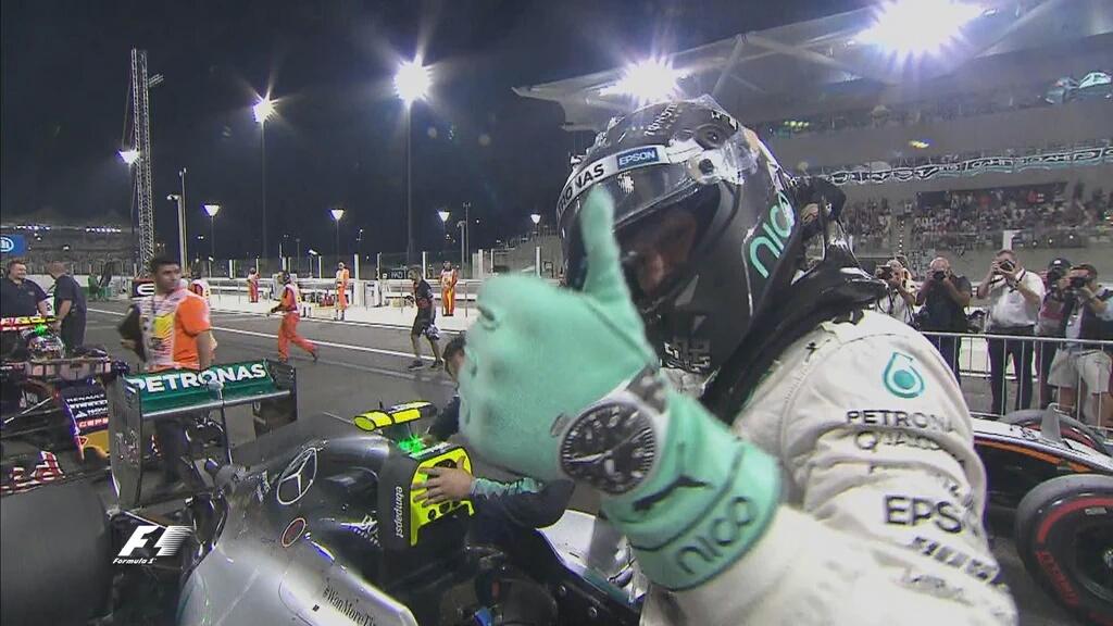 Abu Dhabi: Rosberg in pole. Vettel fuori nel Q1