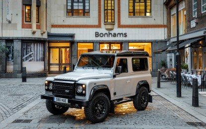 Land Rover Defender n° 2.000.000 all'asta