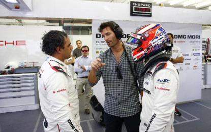 Montoya e Evans testano la Porsche 919 Hybrid