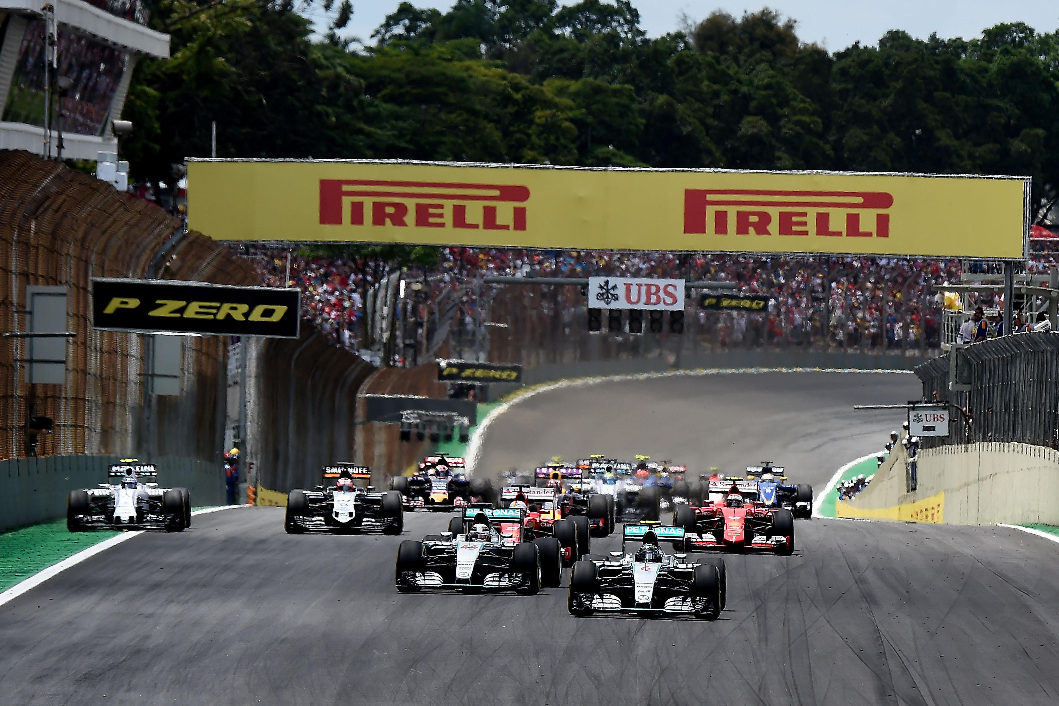 GP Brasile: a Interlagos in azione hard, medium e soft