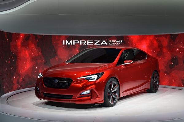 Subaru: il Concept della nuova Impreza