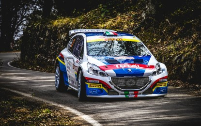 """Lo """"scatto"""" Peugeot per il Monza Rally Show"""