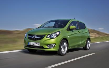 Opel KARL e Astra: altissimi valori residui