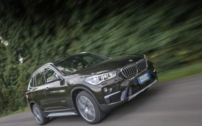 BMW X1 porta la montagna a Milano