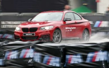 BMW M drifta all'Eicma
